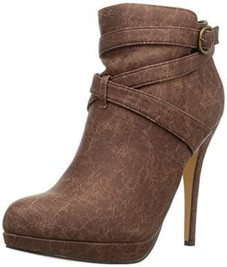 Michael Antonio Women's Peeps Ankle Bootie