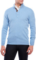 state cashmere Cashmere Mock Neck Sweater