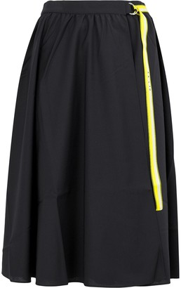 Aalto belted skirt