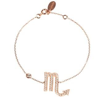 Rosegold Zodiac Bracelet Scorpio