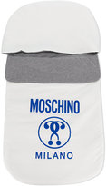 Moschino Kids logo sleep bag