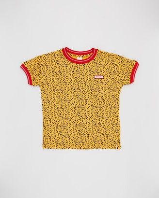 Scotch R'Belle Short Sleeve Ringer Tee - Teens