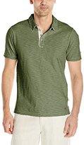 True Grit Men's Vintage Soft Slub Jersey Polo Shirt