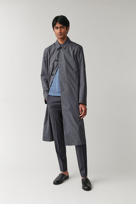 Cos Cotton Trench Coat