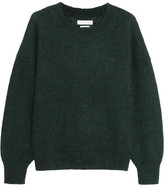 Etoile Isabel Marant Clifton Mohair-blend Sweater - Forest green