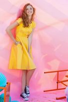 Shabby Apple Bleecker Dress Yellow