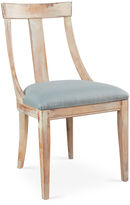 Sarreid Ltd. Deco Side Chair, Spa Linen