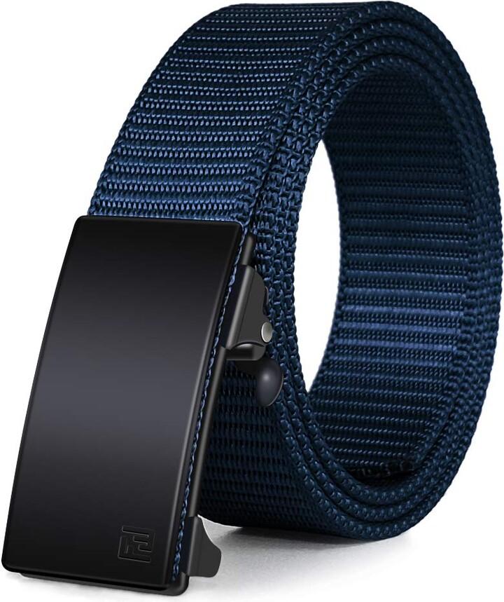 Tommy Bahama Size L//XL  WAIST 36-42 NAVY BLUE Braided Belt New Mens