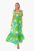 Sheridan French Kelly Tiered Maxi Dress