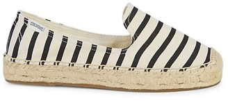 Soludos Striped Canvas Espadrille Flats