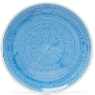 Summerill & Bishop - Brushed Ceramic Dinner Plate - Light Blue