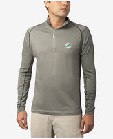 Tommy Bahama Men's Miami Dolphins Double Eagle Half-Zip Sweater