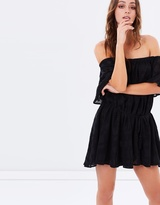 Finders Keepers Better Days Ruffle Dress