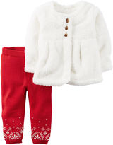 Carter's Girls 2-pc. Pant Set-Baby