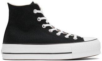 Converse Black Chuck Taylor All Star Lift Platform High Sneakers