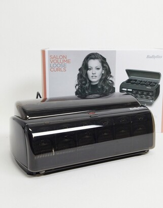 Babyliss Boutique Salon Ceramic Heated Rollers UK Plug-No Colour