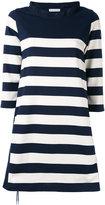 Moncler striped dress - women - Cotton/Polyester - M
