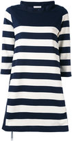 Moncler striped dress - women - Cotton/Polyester - XS