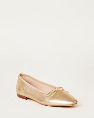Loeffler Randall Georgie Ballet Flat Champagne