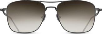 Matsuda Cross-Bar Aviator Sunglasses
