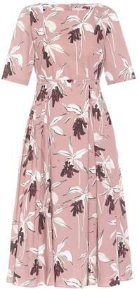 Max Mara S Floral-print A-line dress