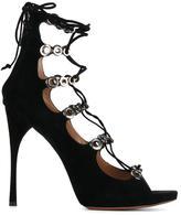 Alaia lace-up sandals