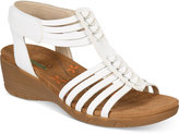 Bare Traps Hinder Wedge Sandals