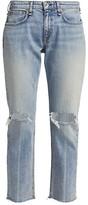 Thumbnail for your product : Rag & Bone Dre Low-Rise Slim-Fit Boyfriend Jeans