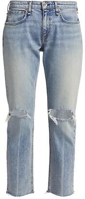 Rag & Bone Dre Low-Rise Slim-Fit Boyfriend Jeans