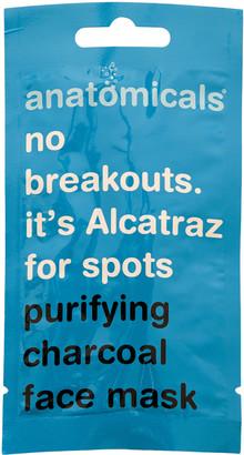 Anatomicals No Breakouts. It's Alcatraz For Spots Charcoal Mask 15ml