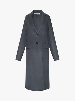 Gerard Darel Poppy Wool Coat, Blue