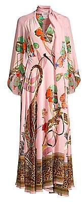 Camilla Women's Mythical Creatures Silk Wrap Dress