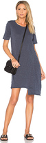 Wilt Shifted Pocket Tee Dress in Navy. - size S (also in XS)