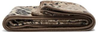 Saved Ny - Leopard Cashmere Blanket - Leopard