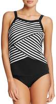Miraclesuit New Direction Stripe Underwire Tankini Top