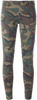 Faith Connexion camouflage print leggings - women - Cotton/Polyurethane - 38