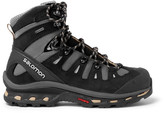 Salomon Quest 4d 2 Gtx Nubuck And Gore-tex Hiking Boots - Charcoal