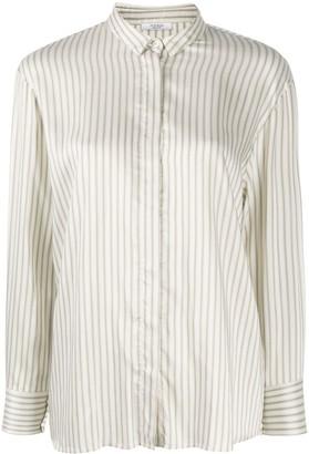 Peserico Striped Print Shirt