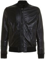 Philipp Plein Grenade Leather Bomber