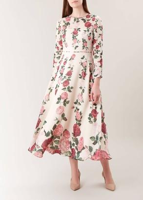 Unlimited Victoria Rose Silk Dress