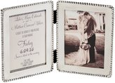 Mud Pie Wedding Collection Beaded Invitation & Announcement Hinged Frame