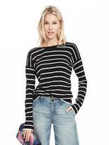 Banana Republic Stripe Vee-Back Pullover