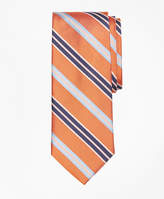 Brooks Brothers Alternating Textured Fame Stripe Tie
