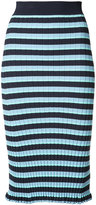 Altuzarra striped pencil skirt - women - Polyester/Viscose - XS