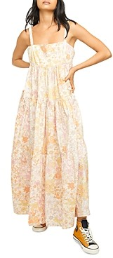 Free People Park Slope Floral Maxi Dress