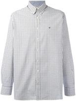 Hackett button-down plaid shirt