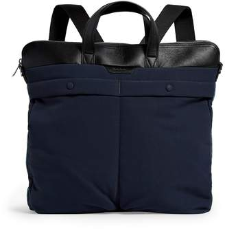 Paul Smith Leather-Trim Backpack