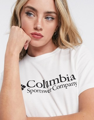Columbia North Cascades short sleeve t-shirt in white