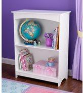 Kid Kraft Nantucket White 2-shelf Bookcase
