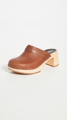 Swedish Hasbeens Dagny Clogs